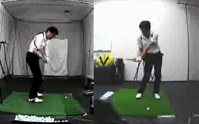 golftec ヨコからタテのイメージへ!! 1-1