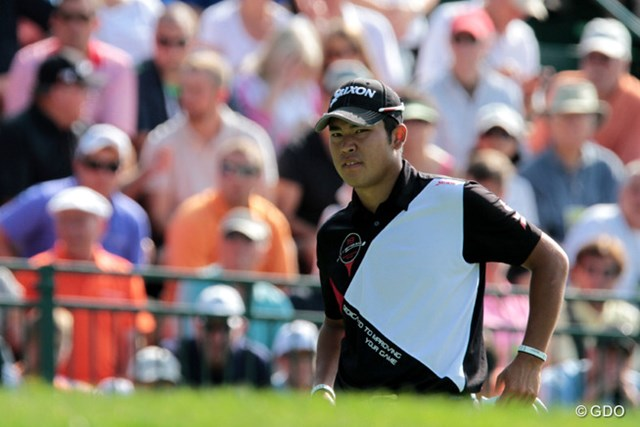 2013年 全米プロゴルフ選手権 初日 松山英樹 松山はショットが復調傾向にある状態で痛い出遅れ。2日目の巻き返しに期待がかかる