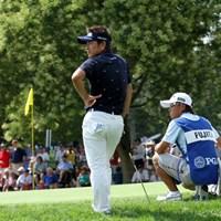 痛かったトリプルボギー。僕の迷いが正直、悔しいです。 2013年 全米プロゴルフ選手権 初日 藤田寛之専属キャディ・梅原敦の全米プロレポート2013 4