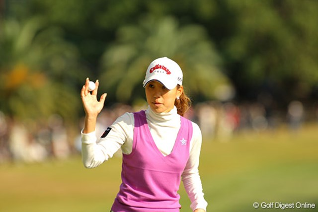 複数年シードが得られるメジャータイトル獲得を目指す上田桃子
