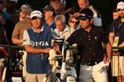 2013年 全米プロゴルフ選手権 初日 藤田寛之、梅原敦キャディ