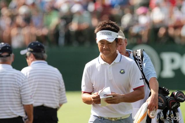 「今日は2オーバーなら…」と目標を設定してスタートした藤田。決勝進出へその見立ては正しかったが…