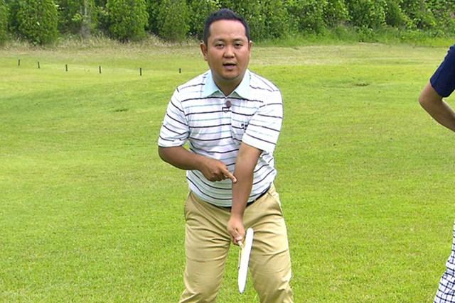 ゴルフクラブの取扱説明書 Vol.2 重いヘッドを使いこなすドリル 5P