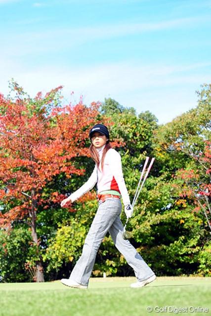今年のプロテストに落ちた金田久美子だが、優勝で一気にプロ転向も可能だ!