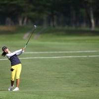 韓国選手の1人です。トップと1打差5アンダー2位タイ 2013年 NEC軽井沢72ゴルフトーナメント 初日 イ・ジミン