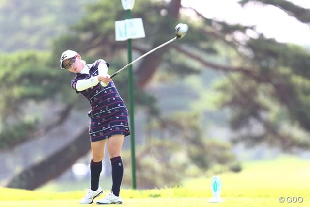2013年 NEC軽井沢72ゴルフトーナメント 2日目 飯島茜 ドライバーの飛距離が伸びてる?7アンダー6位タイ