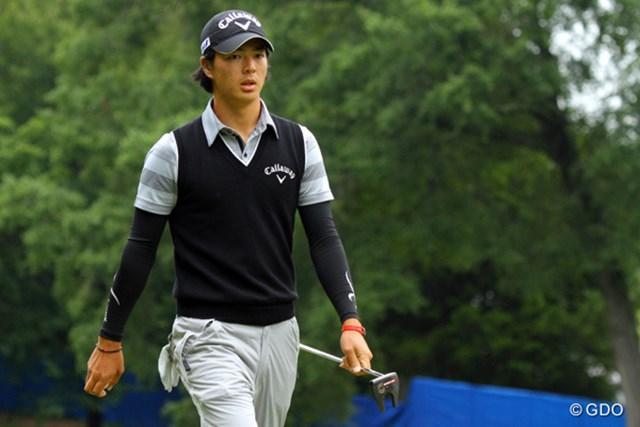 2013年 ウィンダム選手権 3日目 石川遼 あとひとつ、あとふたつ獲れれば…といったゴルフの続く石川。31位タイで最終日を迎える。