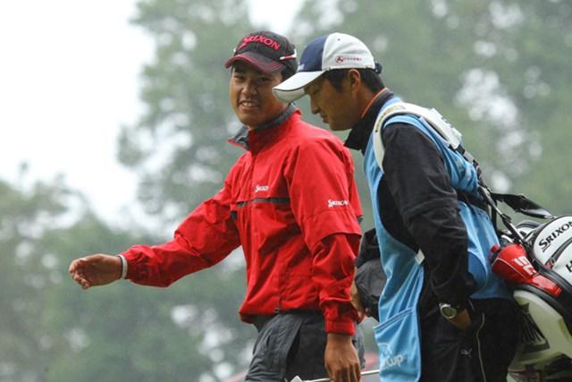 2013年 ウィンダム選手権 3日目 松山英樹 ほら、楽しそう。