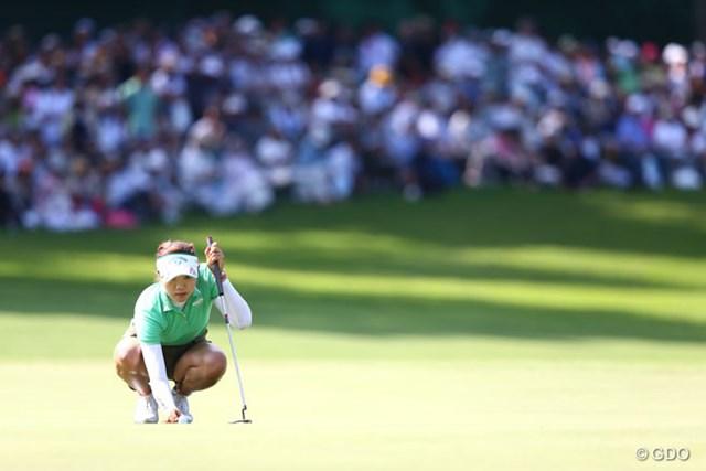 2013年 NEC軽井沢72ゴルフトーナメント 最終日 リ・エスド 悔しい最終日になってしまいました