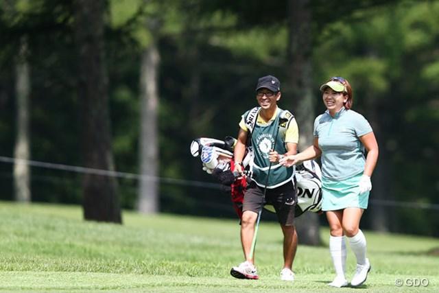 2013年 NEC軽井沢72ゴルフトーナメント 最終日 吉田弓美子 ディフェンディングチャンピオンというプレッシャーの中、頑張りました!11アンダー5位