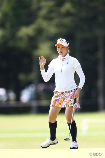 2013年 NEC軽井沢72ゴルフトーナメント 最終日 飯島茜 スコア3つ伸ばすも及ばず、10アンダー6位タイ