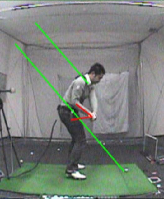 golftec 8の字スイングを大改善! 1-1