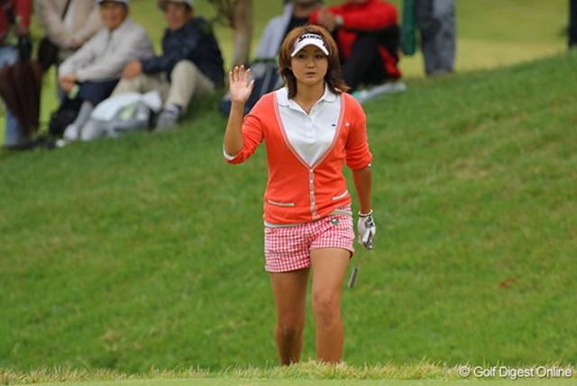早くもファンがつき始めた注目の新人・櫻井有希は堂々の4位タイ