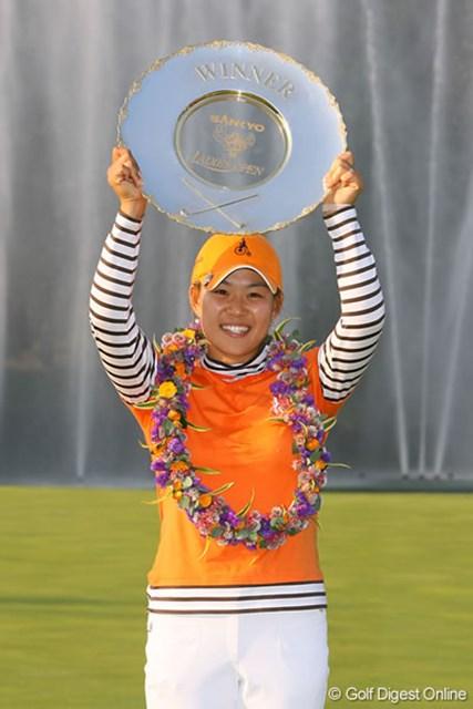 キム・ソヒ 今大会でツアー初勝利を挙げた昨年のキム・ソヒ