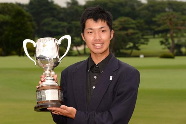 最終ホールで逆転し、初タイトルを獲得した和田章太郎(提供:日本ゴルフ協会)