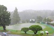 2013年 関西オープン 最終日 雨