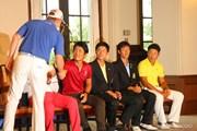 2013年 関西オープンゴルフ選手権競技 最終日 表彰式