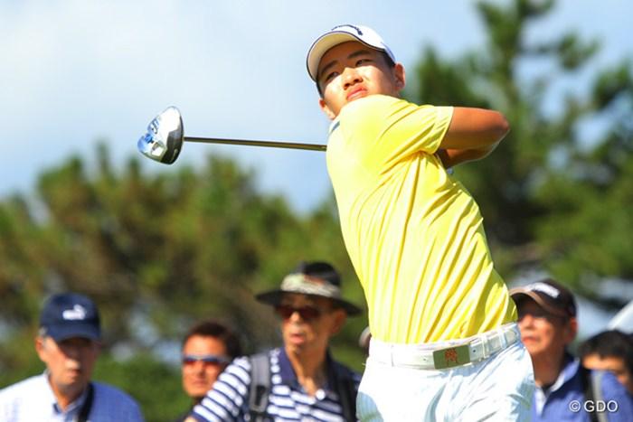 注目の14歳アマは135位タイと出遅れ…なんか、残念。 2013年 VanaH杯KBCオーガスタゴルフトーナメント 初日 グァン・ティンラン