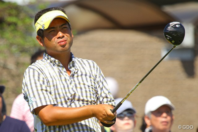 2013年 VanaH杯KBCオーガスタゴルフトーナメント 初日 池田勇太 お。ドライバー、新製品。