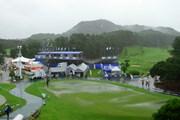 2013年 VanaH杯KBCオーガスタゴルフトーナメント 2日目 雨