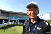 2013年 VanaH杯KBCオーガスタゴルフトーナメント 2日目 福岡大学・清永明教授