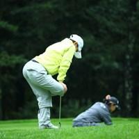 フラミンゴ。 2013年 ニトリレディスゴルフトーナメント 初日 小川茉奈美