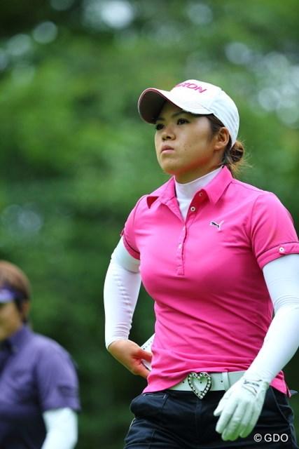 2013年 ニトリレディスゴルフトーナメント 2日目 西美貴子 さくらアカデミー出身の西美貴子。先輩にも、後輩にも刺激は多い