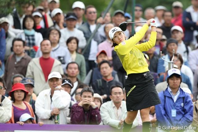 「今週は自信になりました」という飯島茜は、2位タイでフィニッシュ