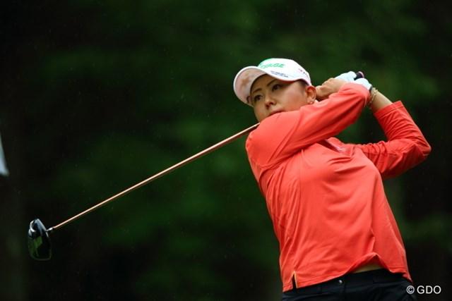 2013年 ニトリレディスゴルフトーナメント 2日目 佐伯三貴 昨日叩いたけれど、きっちり調整して予選通過するあたりはさすが。