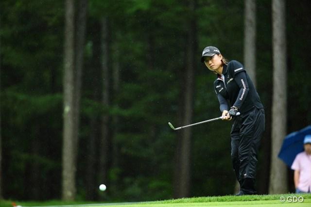 2013年 ニトリレディスゴルフトーナメント 2日目 原江里菜 今日は黒子に徹します、わたし。