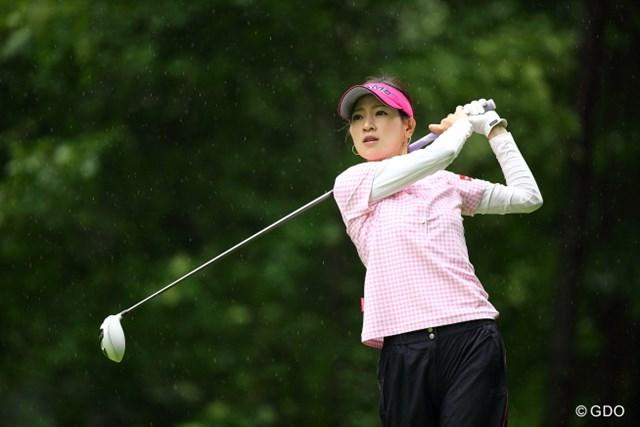 2013年 ニトリレディスゴルフトーナメント 2日目 竹村真琴 美人すぎるから罰金100円。