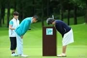 2013年 ニトリレディスゴルフトーナメント 最終日 大会会長