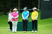 2013年 ニトリレディスゴルフトーナメント 最終日 表彰式