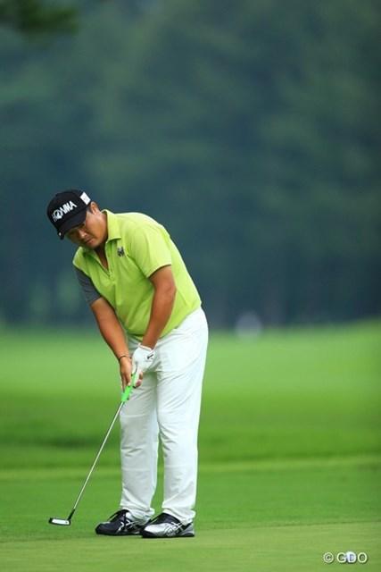 2013年 フジサンケイクラシック 2日目 小田孔明 バーディーなし、ボギーもなし。オールパーのゴルフでした。5アンダー5位タイです。