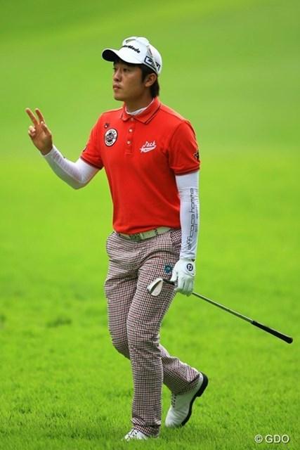 2013年 フジサンケイクラシック 3日目 S.J.パク 今週も安定したゴルフですねぇ。崩れる気配は全くありません。首位とは4打差の2位タイへ浮上。2週連続Vのチャンスです。