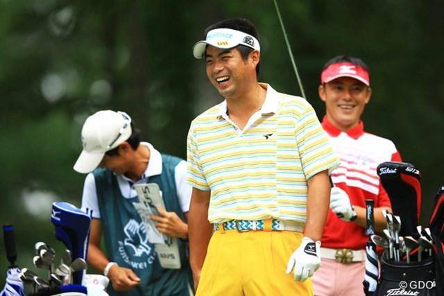 2013年 フジサンケイクラシック 3日目 池田勇太 やっぱり若大将の笑顔はイイですね。ムービングサタデーとまでは行きませんでしたが、今日はスコアを3つ伸ばして16位タイです。