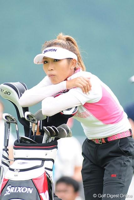 プロテスト後、初のツアー参戦となった金田久美子。69位タイと出遅れた