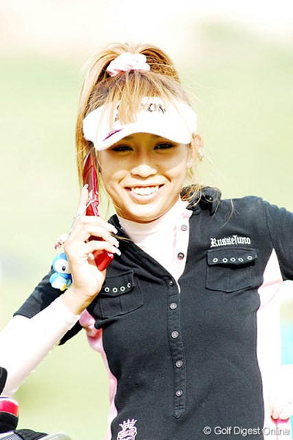 アマチュアの金田久美子が、6連続バーディの離れ業!7位タイに急浮上した