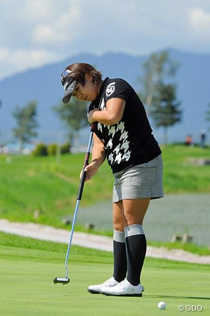 2013年 ゴルフ5レディスプロゴルフトーナメント 最終日 吉田弓美子 佐伯三貴との4ホールに及びプレーオフを制した吉田