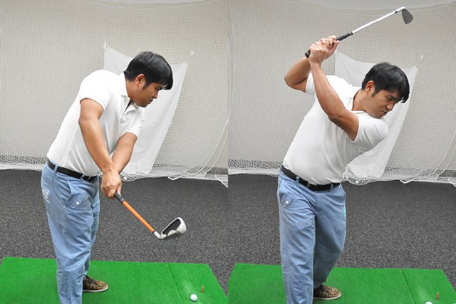 golftec ハーフバックでさっさと右向け右! 4-1