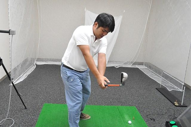 golftec ハーフバックでさっさと右向け右! 5-1