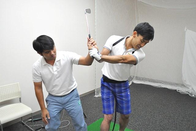 golftec ハーフバックでさっさと右向け右! 5-2