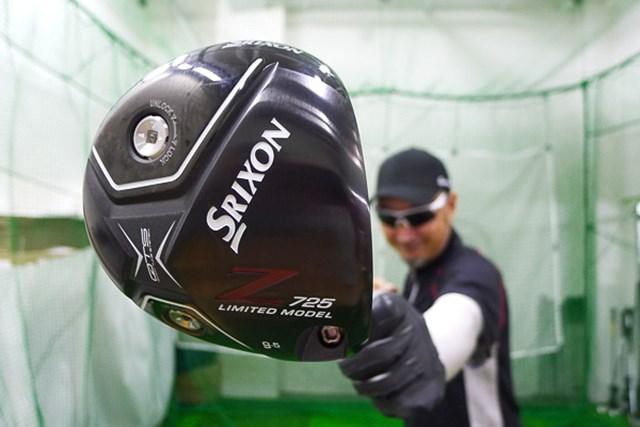 黒塗りの限定品!「スリクソン Z725 リミテッドモデル」を試打インプレッション