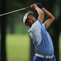 単独首位に浮上したタイのタワン・ウィラチャン(写真提供/アジアツアー) 2013年 Yeangderトーナメントプレーヤーズ選手権 2日目 タワン・ウィラチャン