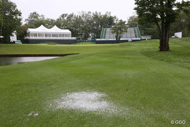 降雨でプレー出来ず最終日は中止!比嘉真美子とイ・ボミの決着はプレーオフへ