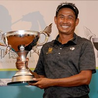 今季調子の出なかったタワン・ウィラチャンが復活のツアー16勝目(写真提供/アジアンツアー) 2013年 Yeangderトーナメントプレーヤーズ選手権 最終日 タワン・ウィラチャン