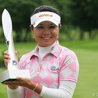 昨年、2週連続勝利で賞金女王レースに名乗りを上げた張娜(チャンナ) 張娜