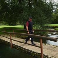 ゴルフの調子は手探りながら、復帰戦を楽しみにしているグーセン 2013年 イタリアオープン 事前 レティーフ・グーセン