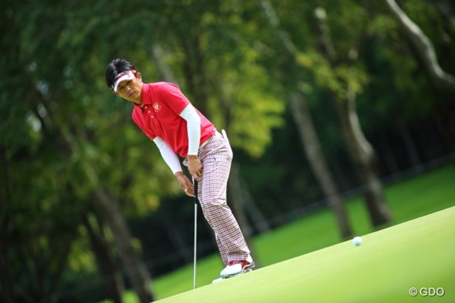 2013 ANAオープンゴルフトーナメント 初日 近藤共弘 近藤も初日首位とは2打差。今季2シーズンぶりの勝利が待たれる。