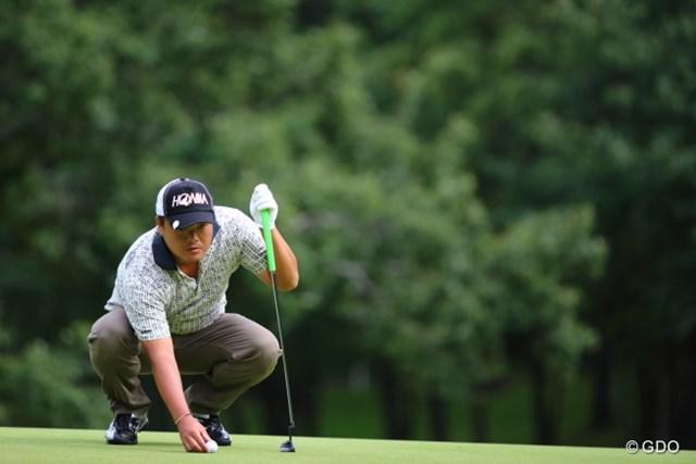 2013 ANAオープンゴルフトーナメント 初日 小田孔明 2週前の「フジサンケイクラシック」でも初日に好発進を決めていた小田。今週は失速しない!?